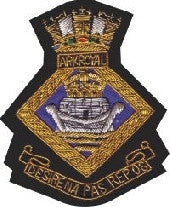 HMS Ark Royal Blazer Badge