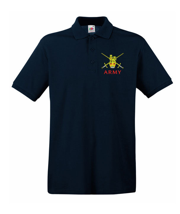 Army polo shirts