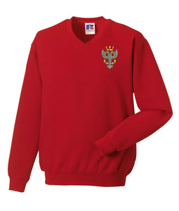 Mercian Regiment V Neck Sweatshirt