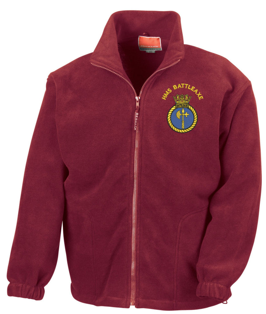 HMS Battleaxe Fleece