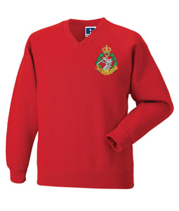 Royal Army Dental Corp V Neck Sweatshirt