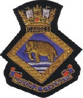HMS Ganges Blazer Badge