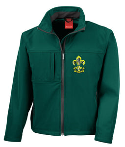 The Kings Regiment soft shell jacket