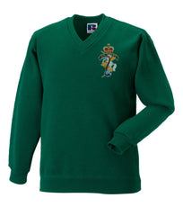 REME (Royal Electrical & Mechanical Engineers)V Neck Sweatshirt
