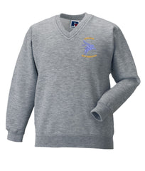 Airborne Brotherhood V Neck Sweatshirt