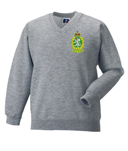 WRAC V Neck Sweatshirt