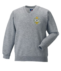 Highland Light Infantry V Neck Sweatshirt