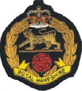 Royal-Hampshire(RHQ)-Wire-Blazer-Badge
