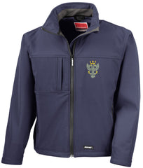 mercian regiment softshell jacket