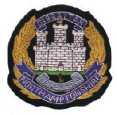 Northamptonshire Regiment Blazer Badge