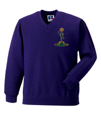 Royal Signals V Neck Sweatshirt