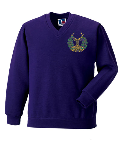 Gordon Highlanders V Neck Sweatshirt