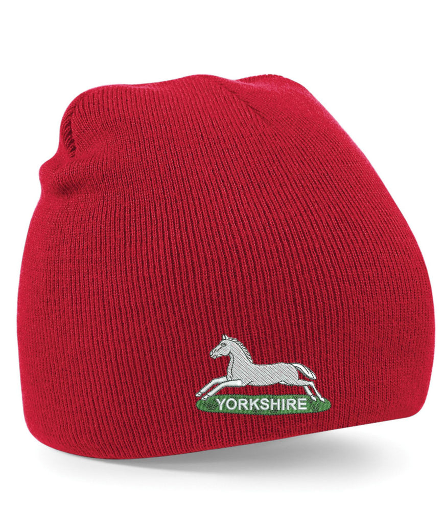 Prince of Wales's Own Regiment of Yorkshire Beanie Hats