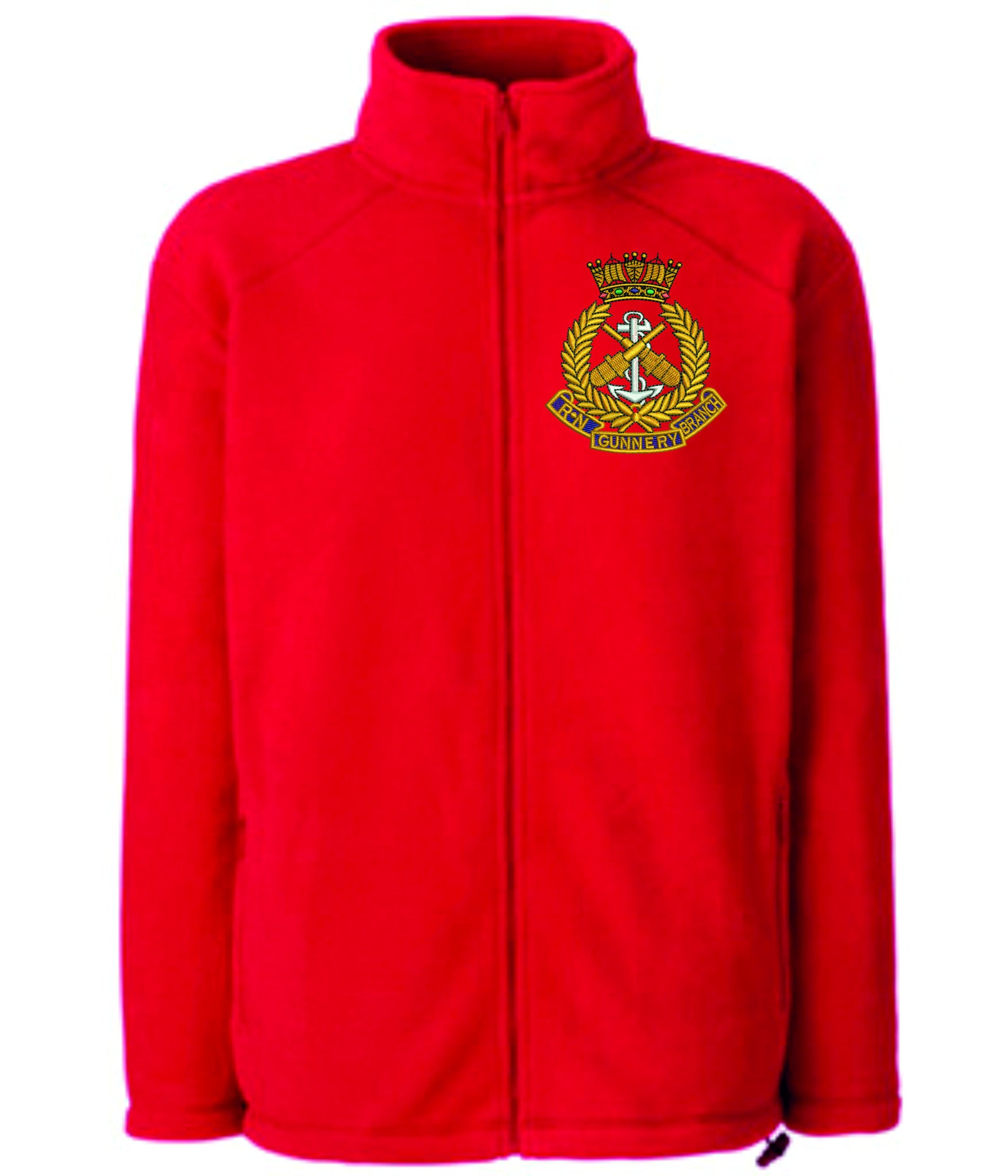 Royal Navy Gunnery Branch fleece
