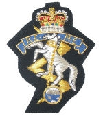 REME blazer badges