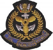 RN-Engine-Room-Branch Blazer Badge