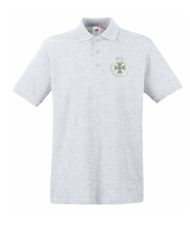 Royal green jacket polo shirts military bullion badges for The tour jacket polo shirt