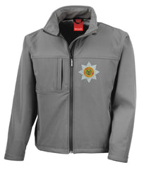 The Cheshire regiment softshell jacket