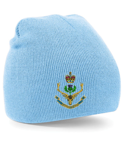 Queens Own Highlanders Beanie Hats