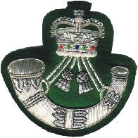 The Rifles Blazer Badges