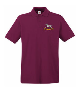 The Queens Own Hussars Polo Shirt