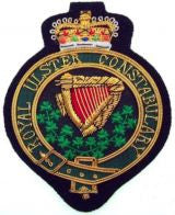 RUC Royal Ulster Constabulary Blazer Badge