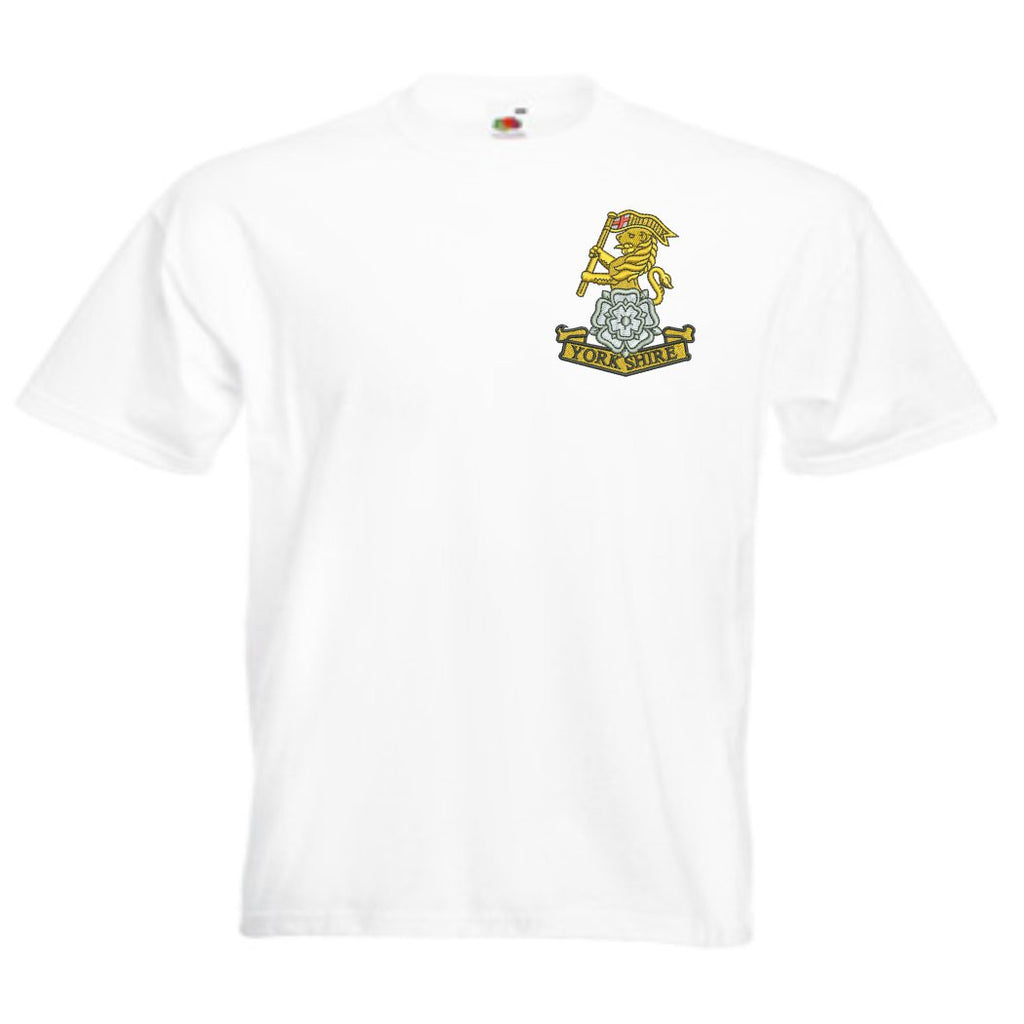 Yorkshire Regiment T Shirts