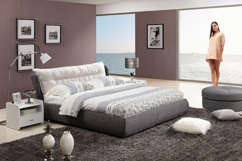 3-Piece California King Fabric Bedroom Set 851