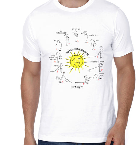 The Real Surya Namaskar Tshirt