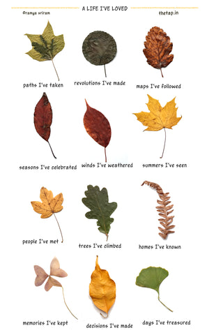 Autumn Leaves (A Life I've Loved) Poster