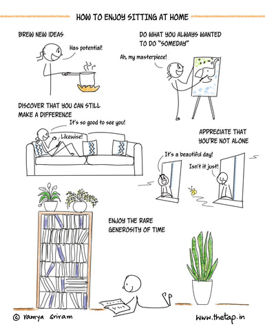 How to Enjoy Sitting at Home Poster