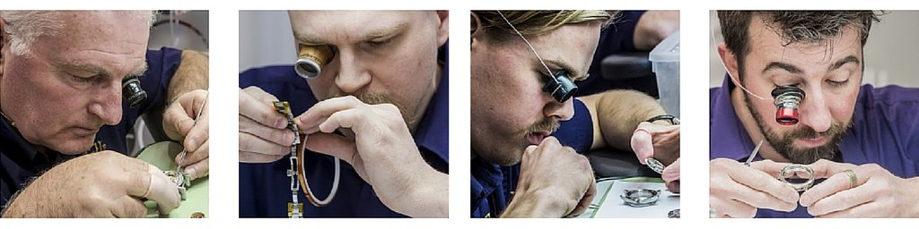Watchmakers at work