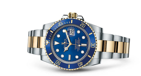 Rolex Submariner /https://www.rolex.com/watches/submariner/m116613lb-0005.html