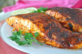 Louisiana Cajun blackened salmon easy recipe and healthy