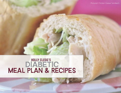 Diabetic Meal Plan With Recipes & Shopping List