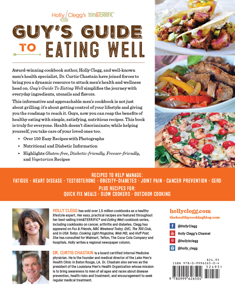 Guys guide to eating well a mans cookbook for health and wellness mens health cookbook for preventive health cookbook with cancer recipes diabetic recipes and testosterone forumfinder Choice Image