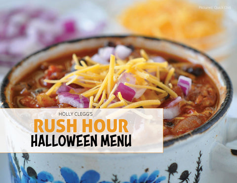 Halloween Menu Rush Hour Recipes