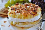Pina Coloda Brie appetizer from Too Hot in the Kitchen cookbook