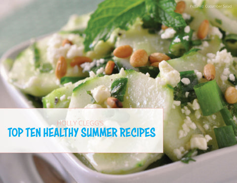 TOP 10 SIMPLE SUMMER HEALTHY RECIPES