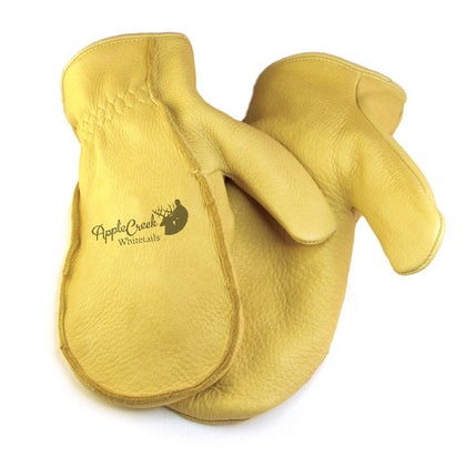 Elk Skin Chopper Mitts (Lined)