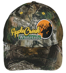 Camo Cap with Apple Creek Logo
