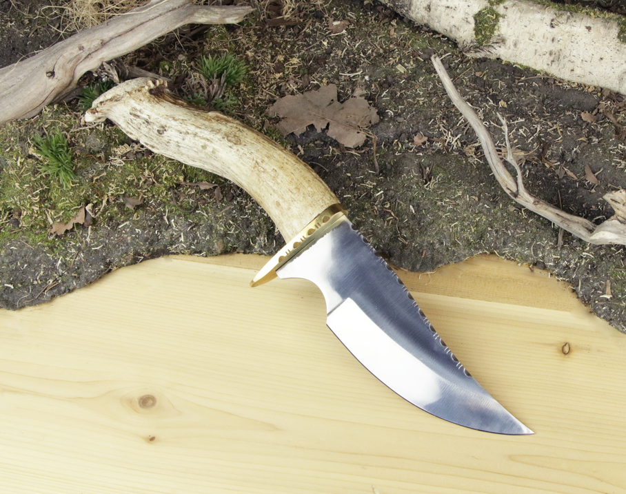 Large Antler Knife