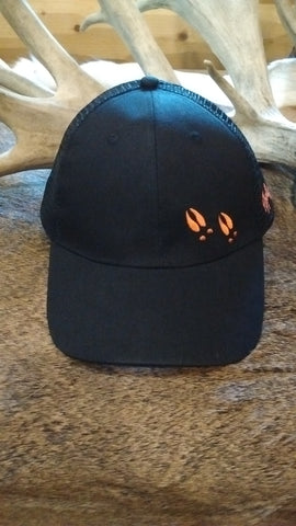 Black Mesh Back Cap