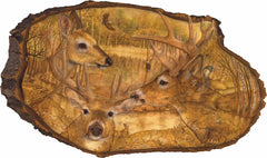 "Large Plaque - ""Apple Creek"" by Joan White"