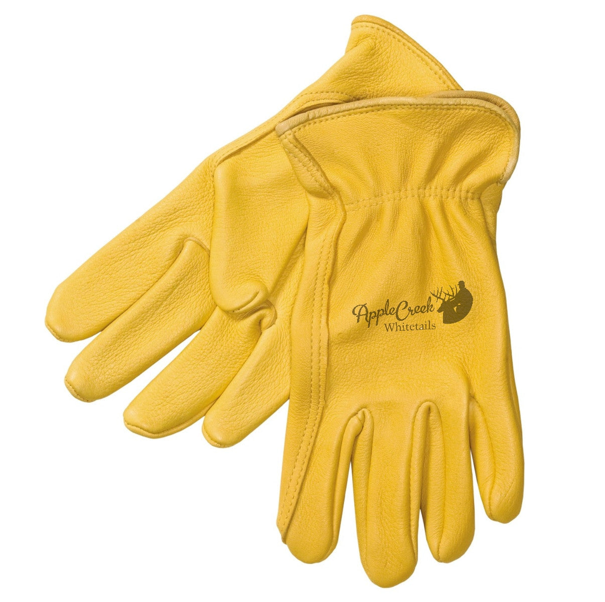 Insulated leather work gloves amazon - Yellow Leather Work Gloves Deer Skin Leather Work Gloves