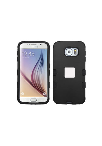 RUGGED Rubberized Black/Black – Galaxy S6