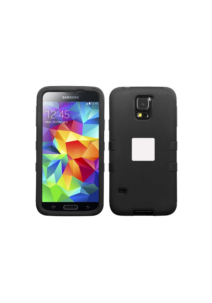 RUGGED Rubberized Black/Black – Galaxy S5