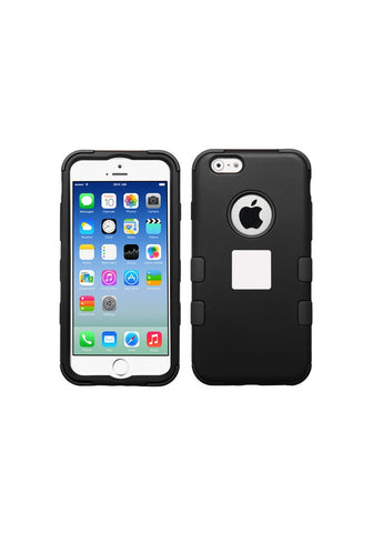 RUGGED Rubberized Black/Black – iPhone 6s / 6