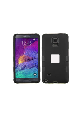 RUGGED Rubberized Black/Black – Galaxy 4 Note