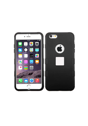 RUGGED Rubberized Black/Black – iPhone 6s Plus / 6 Plus